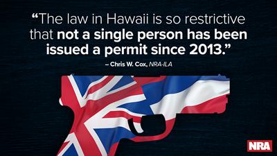 Effort Underway to Halt Hawaii's Restrictive Firearm Permitting Requirements