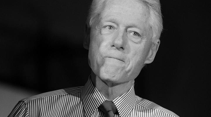 Heeee's Baaack: Bill Clinton Peddles Gun Control on a Wish and a Lie