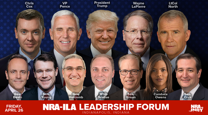 President to Speak at 148th NRA Annual Meetings and Exhibits in Indianapolis, Indiana on April 26