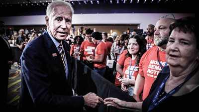 Biden Goes Swalwell-Lite