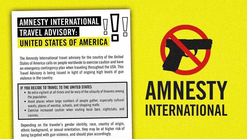 Amnesty International's Desperate Measure