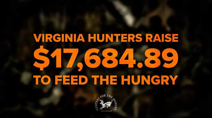 Virginia Hunters Raise $17,684.89 to Feed the Hungry