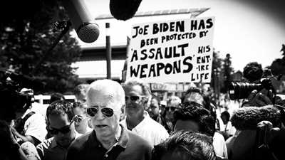 """Candidate Biden Suggests Police be Trained to Shoot """"an Unarmed Person"""" in the Leg"""