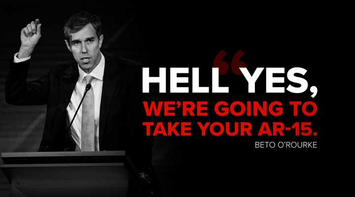 Beto Going All-In on Confiscation