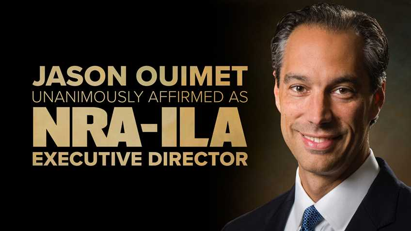 NRA Names Jason Ouimet to Head NRA Institute for Legislative Action