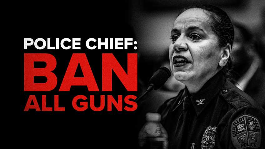 """Virginia Police Chief Advocates Ban on All Guns at U.S. House """"Assault Weapons"""" Hearing"""