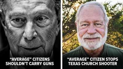 """Bloomberg Dismisses Texas Hero, Insists It Wasn't His """"Job"""" to Have a Gun or Decide to Shoot"""