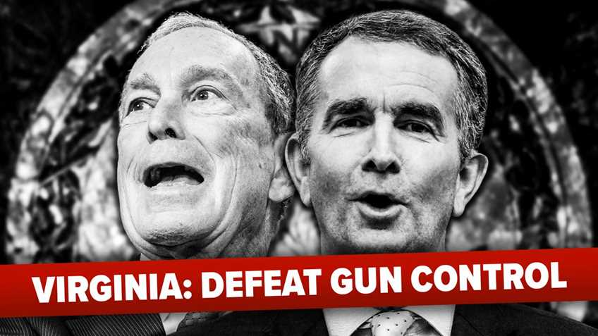 Bloomberg-Bought Virginia General Assembly Ignores Peaceful Redress, Advances More Gun Control