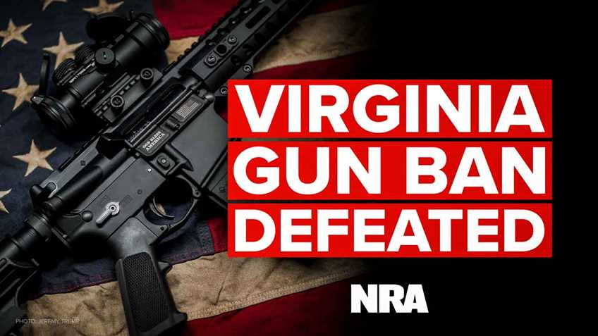 Virginia: Gun Ban Bill Defeated!