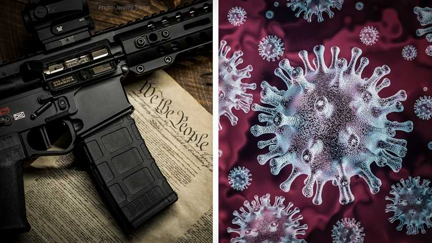 U.S. Senators Use COVID-19 to Push Longtime Gun Control Agenda