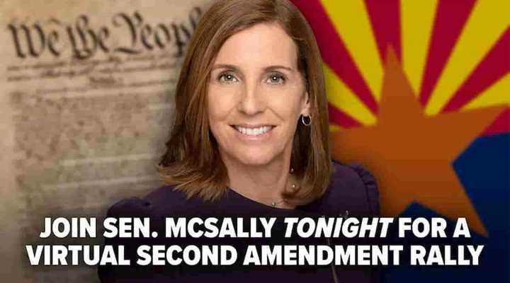 URGENT: Tune in to 2nd Amendment Virtual Rally Tonight with Sen. Martha McSally!