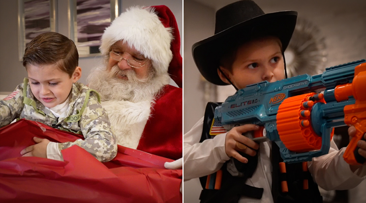 Imposter Santa Denies Toy Gun Request, Gets the Sack
