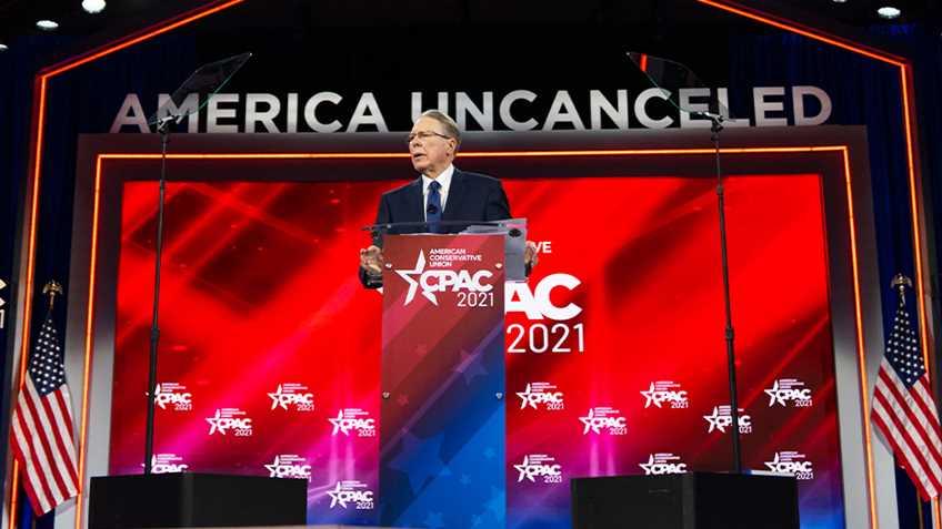 NRA CEO Wayne LaPierre Speaks At CPAC 2021