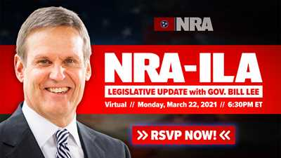Join Your NRA and Governor Bill Lee for an Online Meeting