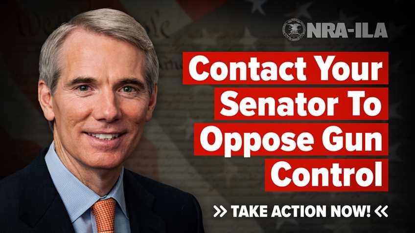 Take Action – Contact Senator Portman Today!