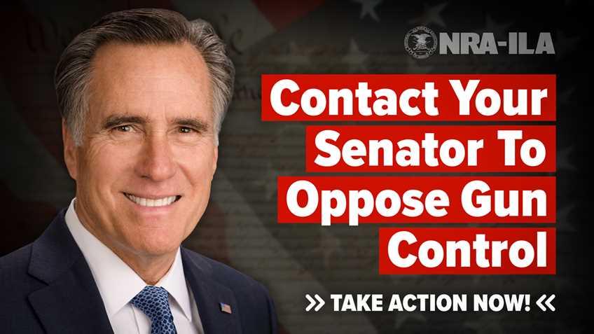 Take Action – Contact Senator Romney Today!