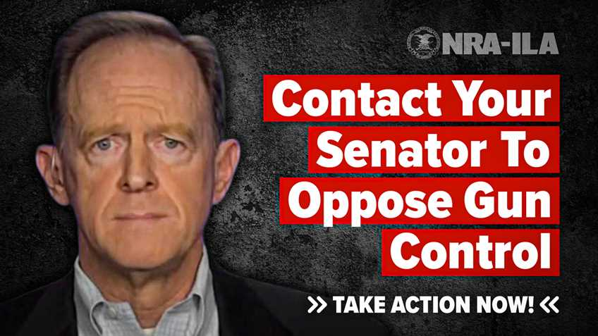 Take Action – Contact Senator Toomey Today!