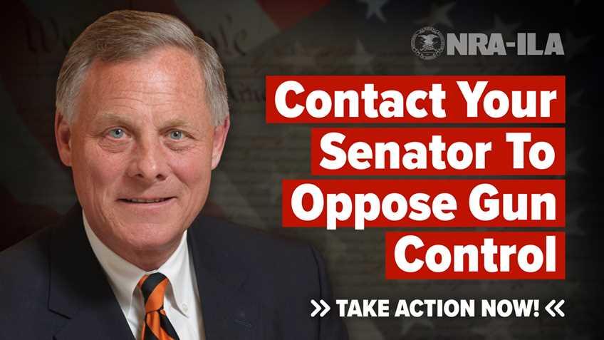 Take Action – Contact Senator Burr Today!
