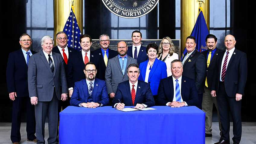 North Dakota Governor Welcomes NRA to Bill Signing Ceremony