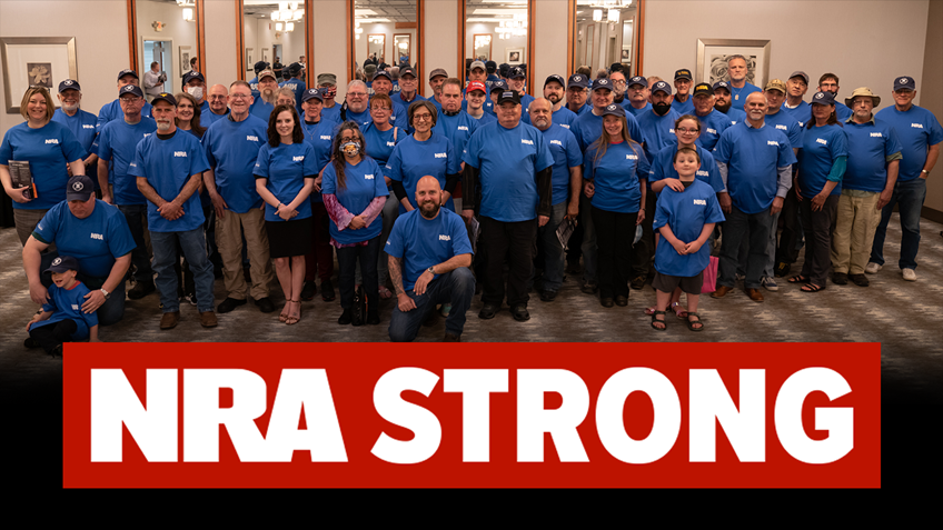NRA Members Show Up In Droves to Oppose Federal Gun Control