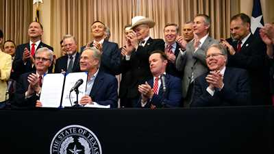 NRA Leadership joins Texas Governor for Special Signing Ceremony of Landmark Bill at The Alamo