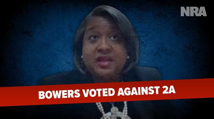 A Dozen New Pro-Second Amendment Laws Take Effect Today, Your State Representative Rhetta Bowers Voted Against NINE of Them!