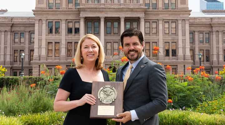 State Rep. Cole Hefner Presented With NRA's Defender of Freedom Award This Week, As Landmark Pro-Second Amendment Bills Become Law