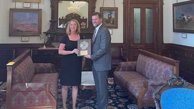 State Sen. Brandon Creighton Presented With NRA's Defender of Freedom Award This Week, As Landmark Pro-Second Amendment Bills Become Law