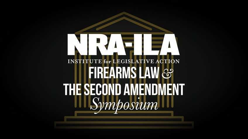 Reminder: You're Invited to the NRA-ILA Firearms Law Symposium in Roanoke Next Saturday!