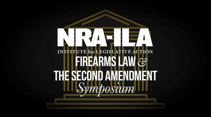 Join us for the 2021 NRA-ILA Firearms Law Symposium on October 23rd in Roanoke!